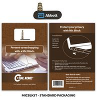 Microphone Blocker Black + Standard Packaging