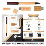 Custom Eco-Desk 4 Pack with Standard Packaging