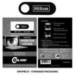 Custom Webcam Cover Swivel Plastic + Standard Packaging