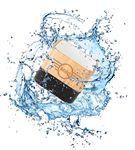 Waterproof Bamboo Bluetooth Speaker with Standard Packaging