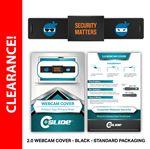 Custom Webcam Cover 2.0 - Black + Standard Packaging