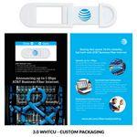 Custom Webcam Cover A2A - White + Custom Packaging