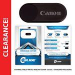 Custom Webcam Cover Channel Tablet Black Metal + Custom Packaging